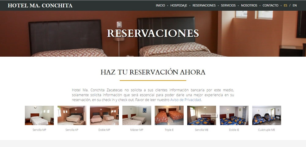 Hotel Maria Conchita Zacatecas